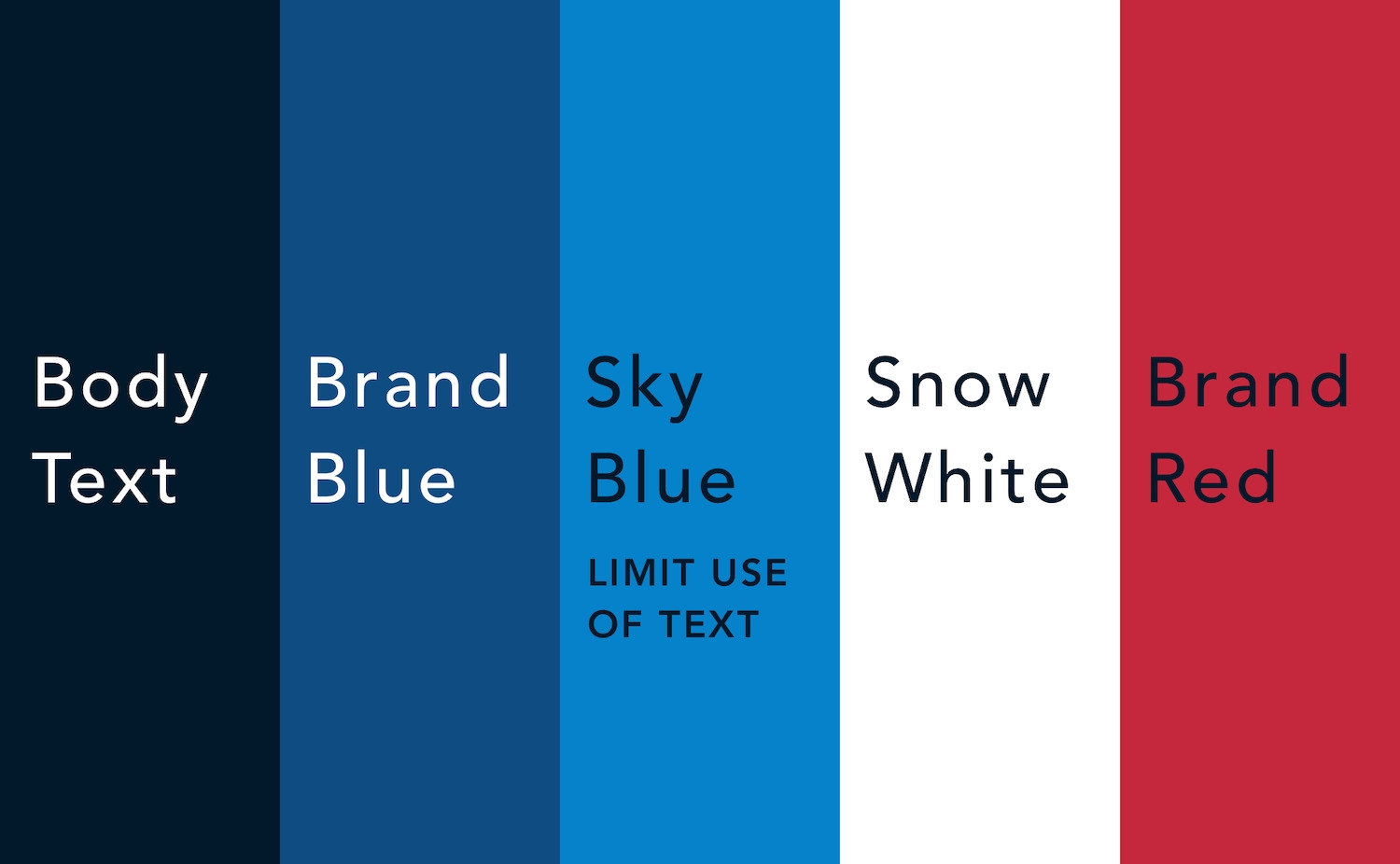 Brand identity colors need to be accessible.