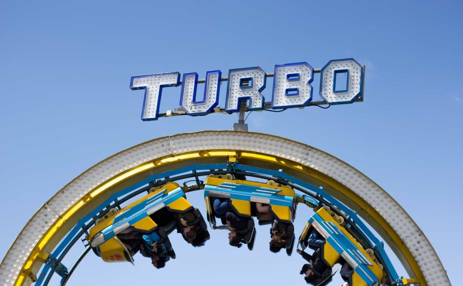 "The ""Turbo"" rollercoaster gaining momentum"